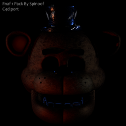 Fnaf 1 Pack By Spinofan10 C4d Release ! (fixed) by Popi01234