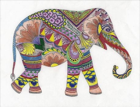 Elephant by WiccaSmurf