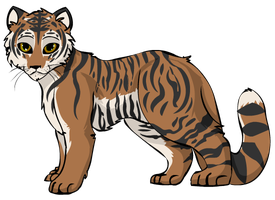 Bengal Tiger by StarryEvening