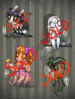 Spooky Adopts OPEN by ImoonArt