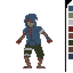 Hunter animated sprite l4d2 by ElTioGanzo