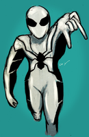 Future Foundation Spider-Man by nicollearl