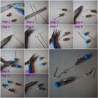 Tutorial - Earrings With Pens by ChrisOnly
