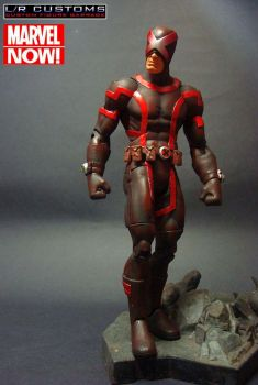 Custom Marvel Now Cyclops by lrcustoms