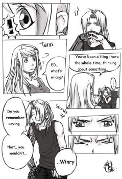 Edward Winry moment Page 1 by Chengggg