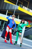 X-Ray and Vav by lavabug1030
