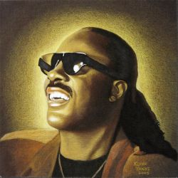Stevie Wonder by kjyBkuz