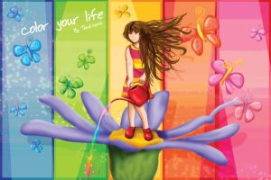 Color Your Life by Tooshtoosh