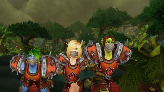 Test: The Horde was gagged in Tanaan by Gadreel88