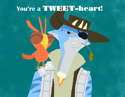 You're a tweetheart by PlatitudinousDuck