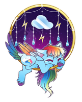 Dream Ring - Rainbow Dash by FuyusFox