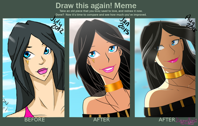 Draw This Again Meme (Again)- Ashley Farr by DragonAnalei
