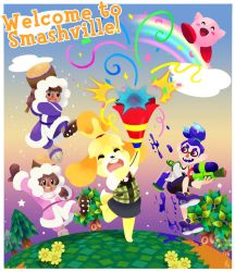 Welcome to Smashville by TamarinFrog