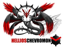 HELLIOSChevromon by Awesometacious
