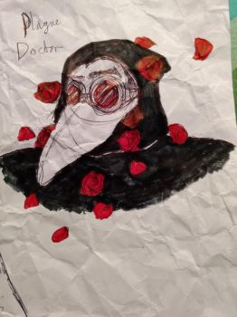 Plague Doctor by Sarsee