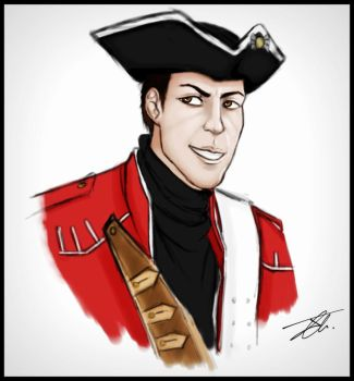 Hickey in Redcoat Uniform by NienorGreenfield