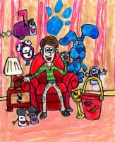 Blue's Clues by SonicClone