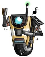 Claptrap Chibi by RedPawDesigns
