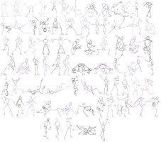 [How to] 75 poses study by IEnideI
