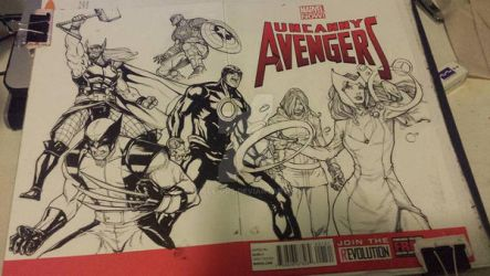 Uncanny Avengers by Uncle-Gus