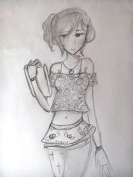 [Redraw] Oka Ruto (Casual Outfit) by AikoChizzle