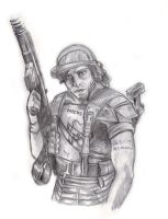 Corporal Dwayne Hicks by ECTO87