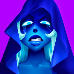 Blue Tears Blue Diamond by Shoscombe