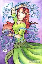 Dancing Sorceress by delightedmuse
