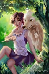 Princess Mononoke by Mireielle