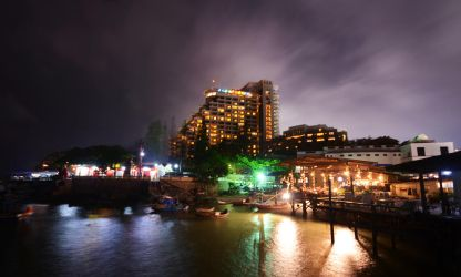Hua Hin Night by comsic