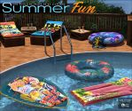 Summer Fun for Poolside Props DS by cosmosue