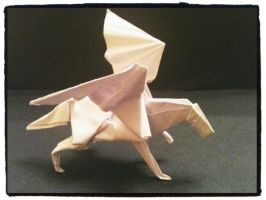 Origami Pegasus - other view by MrChrizpy