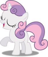 Vector #338 - Sweetie Belle #3 by DashieSparkle