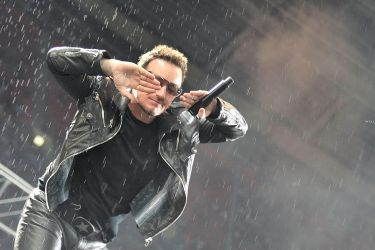 U2 in Moscow 17 - Bono by WilliH