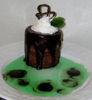 Mint Chocolate Torte by Zappe