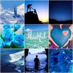 Moodboard - Blue  Thankful by Jessens98