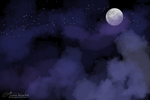 Full Moon Sky Read the Rules by JB-Pawstep