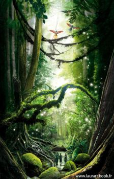 magic forest by laura-csajagi