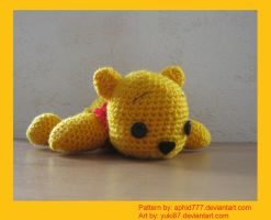 Pooh, with Link to Pattern by Yuki87