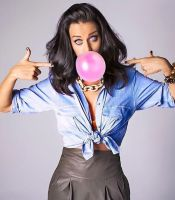 Katy Perry is a Bubblegum Bimbo by hypnospects