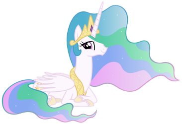 Celestia High Res by goldenmercurydragon