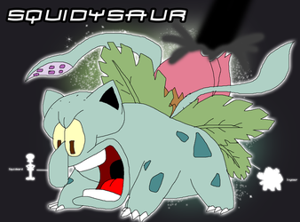 Fusion - Squidysaur by CartoonAnimeFan2000