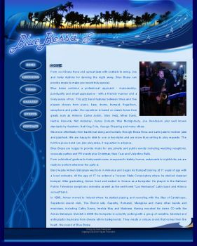 blue bossa website by Anahit12