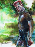 Sgt. Abraham Ford Color by Fusciart