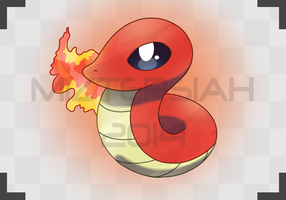 Snake Pokemon by MizterSiah