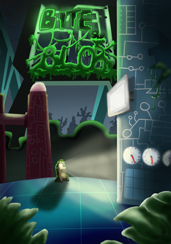 Byte n Blob Poster by GreatDictator