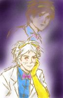 A More Handsome Dr. Two Brains by Novembrist