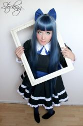 Stocking - behind the frame by XxMyxWouldxX