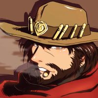 overwatch - Mccree by asd4486