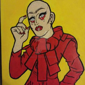 Sasha Velour Pop Art Painting